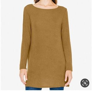 Sweaters - American Apparel camel sweater tunic long brown s